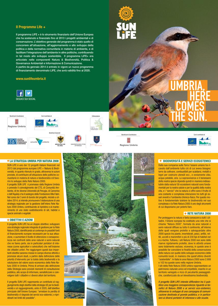 Opuscolo Informativo Sul Progetto LIFE SUN