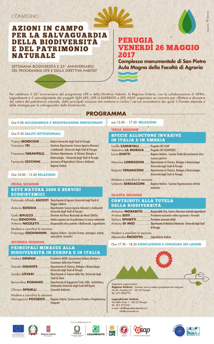 convegno 26 maggio 2017 sulla biodiversità