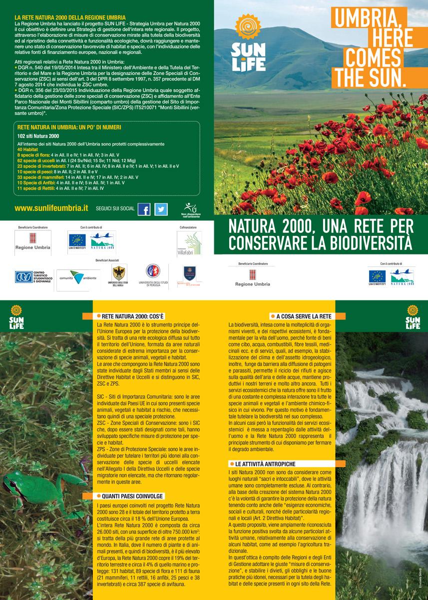 Opuscolo informativo sulla Rete Natura 2000 della Regione Umbria