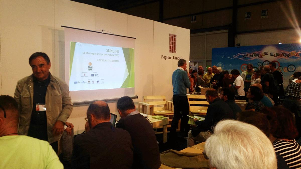 Francesco Grohmann durante l'evento alla presentazione del 6 ottobre 2017