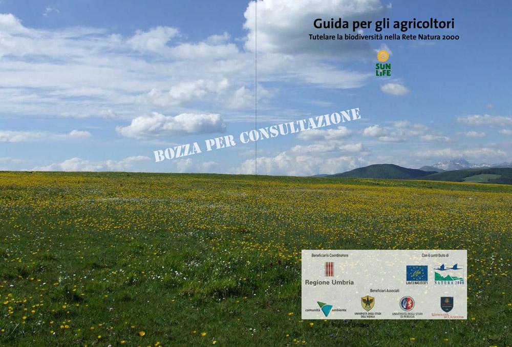 Copertina Guida per gli agricoltori - in consultazione