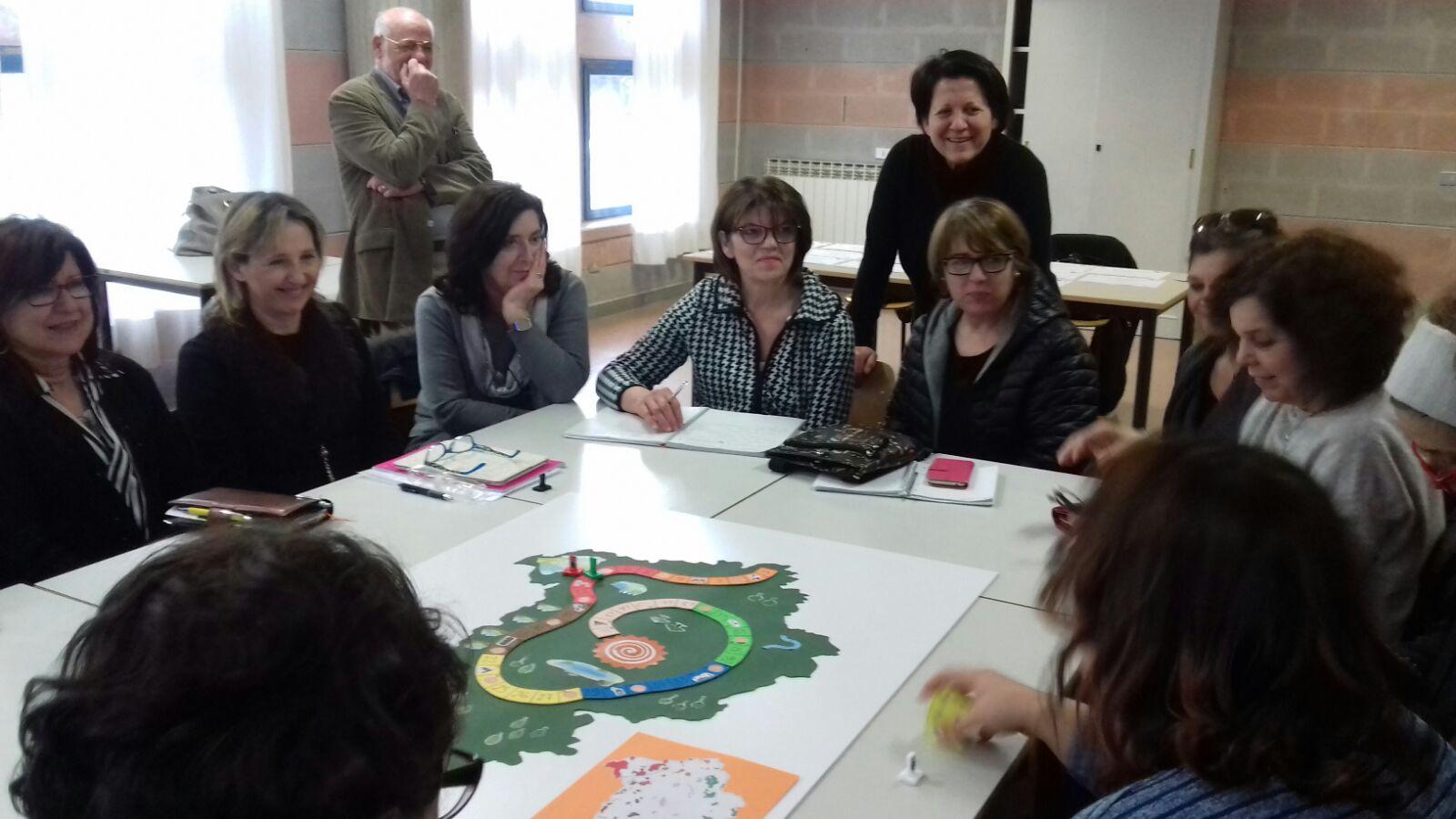 sperimentazione del gioco Scoprinatura che farà parte dell'Edukit del progetto SUNLIFE, con gli insegnati della provincia di Perugia