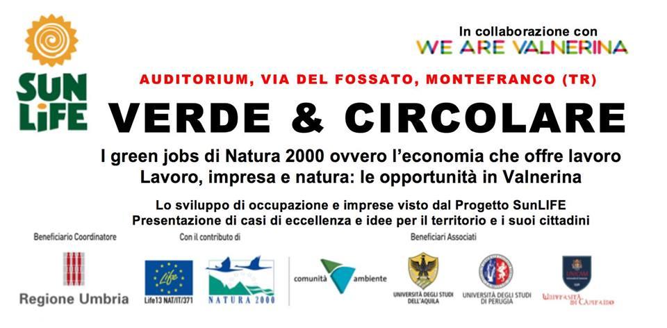 evento GreenJobs 23 maggio 2018 a Montefranco