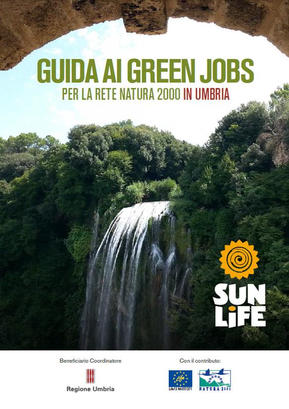 copertina del Libro Guida Ai Green Jobs