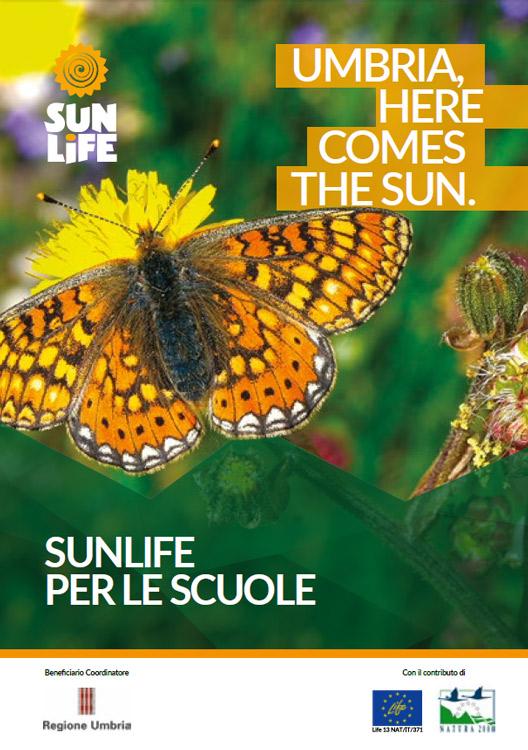 icona della copertina del Depliant Informativo SUNLIFE x le Scuole